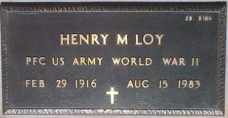 LOY, HENRY M. - Maricopa County, Arizona | HENRY M. LOY - Arizona Gravestone Photos