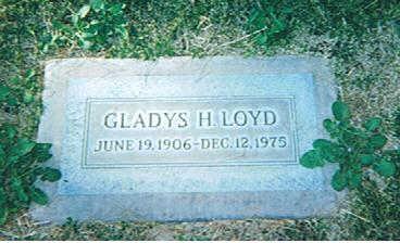LOYD, GLADYS BESSIE - Maricopa County, Arizona   GLADYS BESSIE LOYD - Arizona Gravestone Photos