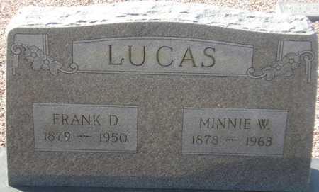 LUCAS, MINNIE W. - Maricopa County, Arizona   MINNIE W. LUCAS - Arizona Gravestone Photos