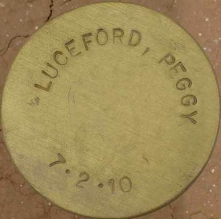 LUCEFORD, PEGGY - Maricopa County, Arizona | PEGGY LUCEFORD - Arizona Gravestone Photos