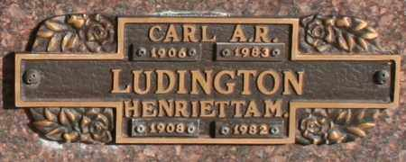 LUDINGTON, HENRIETTA M - Maricopa County, Arizona | HENRIETTA M LUDINGTON - Arizona Gravestone Photos
