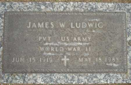 LUDWIG, JAMES W. - Maricopa County, Arizona | JAMES W. LUDWIG - Arizona Gravestone Photos