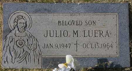 LUERA, JULIO M. - Maricopa County, Arizona | JULIO M. LUERA - Arizona Gravestone Photos