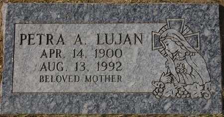LUJAN, PETRA A. - Maricopa County, Arizona   PETRA A. LUJAN - Arizona Gravestone Photos