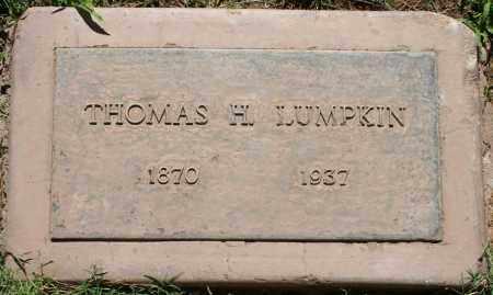LUMPKIN, THOMAS H - Maricopa County, Arizona | THOMAS H LUMPKIN - Arizona Gravestone Photos