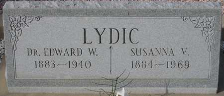 LYDIC, EDWARD W. - Maricopa County, Arizona | EDWARD W. LYDIC - Arizona Gravestone Photos