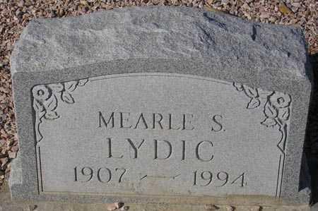 LYDIC, MEARLE S. - Maricopa County, Arizona | MEARLE S. LYDIC - Arizona Gravestone Photos