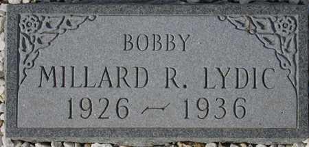 LYDIC, MILLARD R. - Maricopa County, Arizona | MILLARD R. LYDIC - Arizona Gravestone Photos