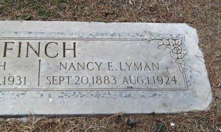 FINCH LYMAN, NANCY E. - Maricopa County, Arizona | NANCY E. FINCH LYMAN - Arizona Gravestone Photos