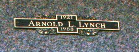 LYNCH, ARNOLD L - Maricopa County, Arizona   ARNOLD L LYNCH - Arizona Gravestone Photos