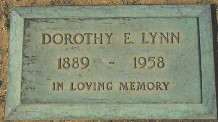 LYNN, DOROTHY E. - Maricopa County, Arizona   DOROTHY E. LYNN - Arizona Gravestone Photos