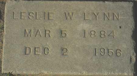 LYNN, LESLIE W. - Maricopa County, Arizona   LESLIE W. LYNN - Arizona Gravestone Photos