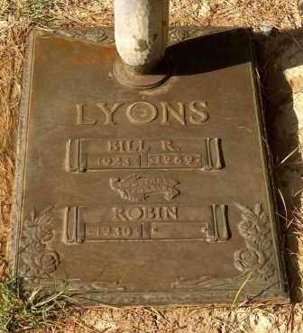 LYONS, ROBERTA CORDELIA (ROBIN) - Maricopa County, Arizona | ROBERTA CORDELIA (ROBIN) LYONS - Arizona Gravestone Photos