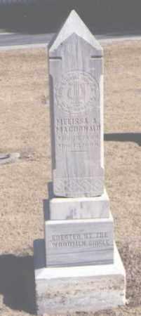 MACDONALD, MELISSA A. - Maricopa County, Arizona | MELISSA A. MACDONALD - Arizona Gravestone Photos