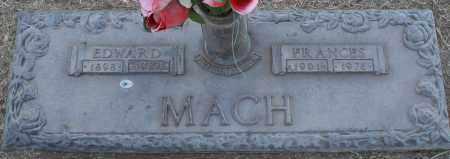 MACH, EDWARD - Maricopa County, Arizona   EDWARD MACH - Arizona Gravestone Photos
