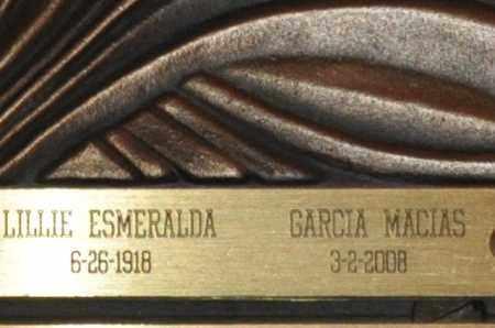 OROSCO GARCIA MACIAS, LILLIE ESMERALDA - Maricopa County, Arizona   LILLIE ESMERALDA OROSCO GARCIA MACIAS - Arizona Gravestone Photos