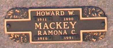MACKEY, HOWARD W - Maricopa County, Arizona | HOWARD W MACKEY - Arizona Gravestone Photos