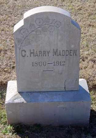 MADDEN, C. HARRY - Maricopa County, Arizona | C. HARRY MADDEN - Arizona Gravestone Photos