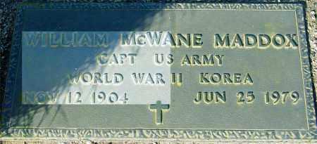MADDOX, WILLIAM MCWANE - Maricopa County, Arizona | WILLIAM MCWANE MADDOX - Arizona Gravestone Photos