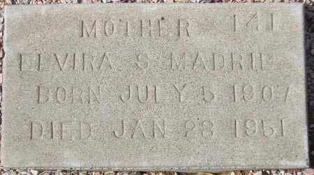 MADRID, ELVIRA S. - Maricopa County, Arizona | ELVIRA S. MADRID - Arizona Gravestone Photos
