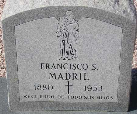 MADRIL, FRANCISCO S. - Maricopa County, Arizona | FRANCISCO S. MADRIL - Arizona Gravestone Photos