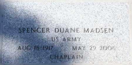 MADSEN, SPENCER DUANE - Maricopa County, Arizona | SPENCER DUANE MADSEN - Arizona Gravestone Photos