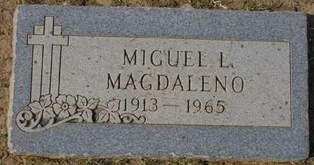 MAGDALENO, MIGUEL L. - Maricopa County, Arizona | MIGUEL L. MAGDALENO - Arizona Gravestone Photos