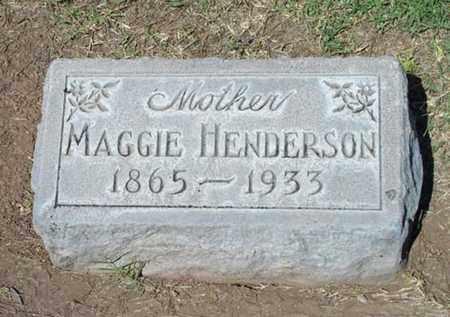 KING MAGGIE, HENDERSON - Maricopa County, Arizona   HENDERSON KING MAGGIE - Arizona Gravestone Photos