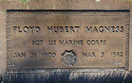 MAGNESS, FLOYD HUBERT - Maricopa County, Arizona | FLOYD HUBERT MAGNESS - Arizona Gravestone Photos