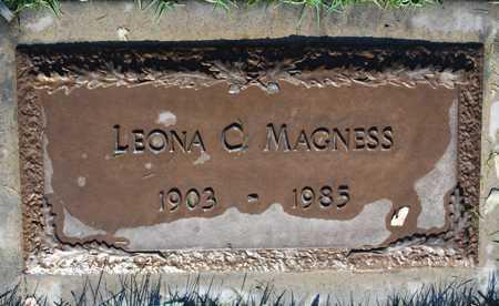 MAGNESS, LEONA C. - Maricopa County, Arizona | LEONA C. MAGNESS - Arizona Gravestone Photos