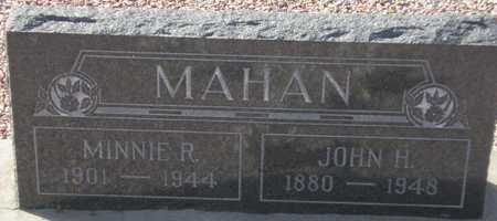MAHAN, MINNIE R. - Maricopa County, Arizona | MINNIE R. MAHAN - Arizona Gravestone Photos