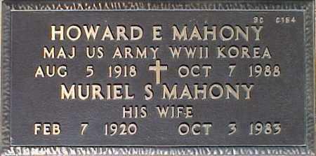 MAHONY, MURIEL S. - Maricopa County, Arizona | MURIEL S. MAHONY - Arizona Gravestone Photos