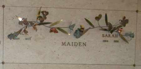 MAIDEN, MACK - Maricopa County, Arizona | MACK MAIDEN - Arizona Gravestone Photos