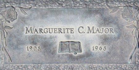 MAJOR, MARGUERITE C. - Maricopa County, Arizona   MARGUERITE C. MAJOR - Arizona Gravestone Photos