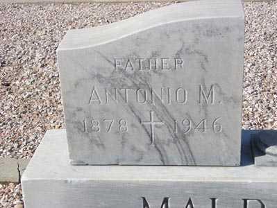 MALDONADO, ANTONIO M. - Maricopa County, Arizona | ANTONIO M. MALDONADO - Arizona Gravestone Photos