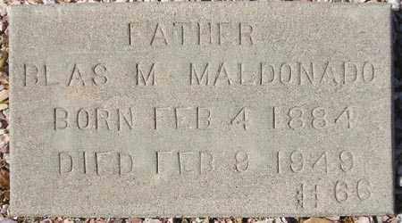 MALDONADO, BLAS M. - Maricopa County, Arizona   BLAS M. MALDONADO - Arizona Gravestone Photos