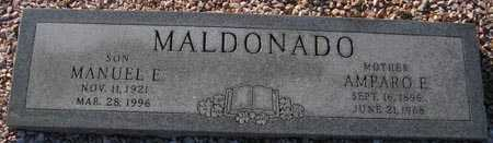 MALDONADO, AMPARO E. - Maricopa County, Arizona | AMPARO E. MALDONADO - Arizona Gravestone Photos
