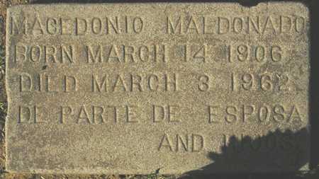 MALDONADO, MACEDONIO - Maricopa County, Arizona | MACEDONIO MALDONADO - Arizona Gravestone Photos