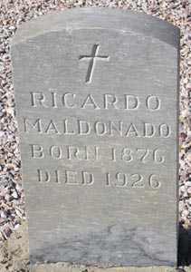 MALDONADO, RICARDO - Maricopa County, Arizona | RICARDO MALDONADO - Arizona Gravestone Photos