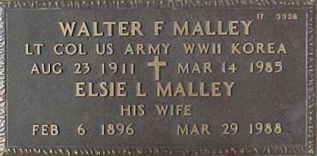 MALLEY, WALTER F. - Maricopa County, Arizona | WALTER F. MALLEY - Arizona Gravestone Photos