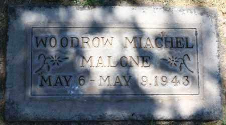MALONE, WOODROW MIACHEL - Maricopa County, Arizona | WOODROW MIACHEL MALONE - Arizona Gravestone Photos