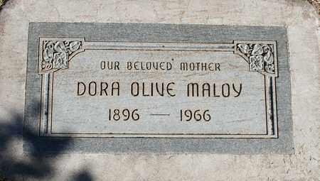 MALOY, DORA OLIVE - Maricopa County, Arizona   DORA OLIVE MALOY - Arizona Gravestone Photos