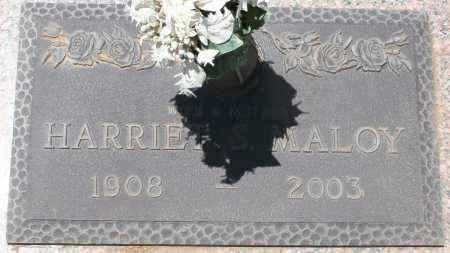 MALOY, HARRIET S. - Maricopa County, Arizona | HARRIET S. MALOY - Arizona Gravestone Photos