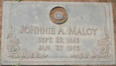 MALOY, JOHNNIE A. - Maricopa County, Arizona   JOHNNIE A. MALOY - Arizona Gravestone Photos