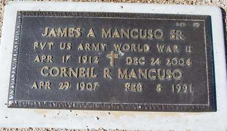 MANCUSO, JAMES A. - Maricopa County, Arizona   JAMES A. MANCUSO - Arizona Gravestone Photos