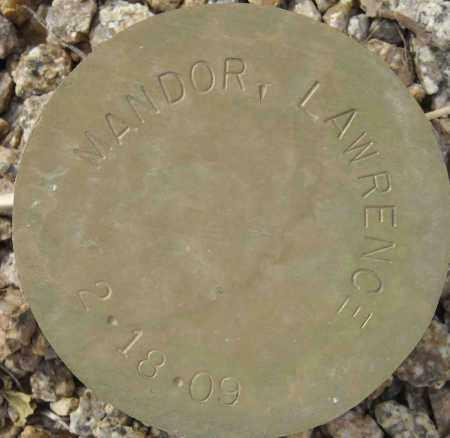 MANDOR, LAWRENCE - Maricopa County, Arizona | LAWRENCE MANDOR - Arizona Gravestone Photos