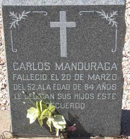 MANDURAGA, CARLOS - Maricopa County, Arizona   CARLOS MANDURAGA - Arizona Gravestone Photos