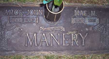 MANERY, AMOS JOHN - Maricopa County, Arizona | AMOS JOHN MANERY - Arizona Gravestone Photos