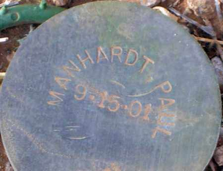MANHARDT, PAUL - Maricopa County, Arizona | PAUL MANHARDT - Arizona Gravestone Photos