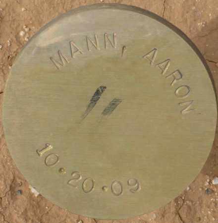 MANN, AARON - Maricopa County, Arizona | AARON MANN - Arizona Gravestone Photos
